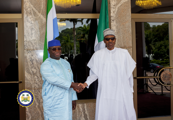 President Bio and President Buhari Strengthen Bilateral Ties