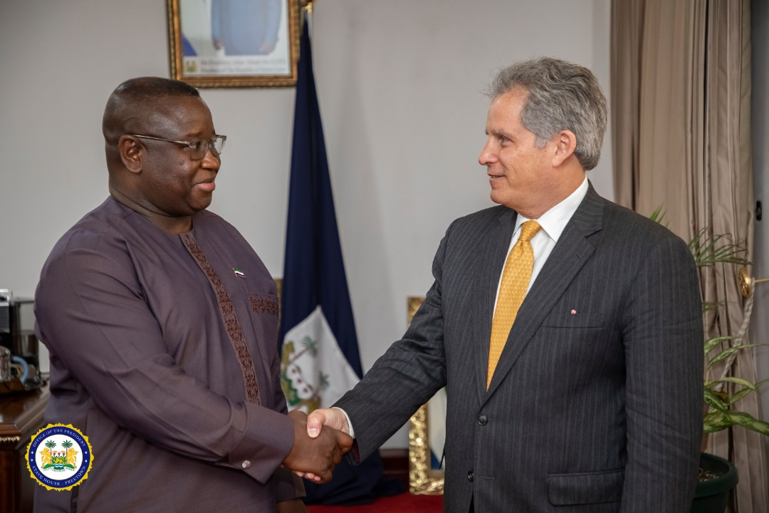 IMF First Deputy Managing Director Meets President Bio, Commends Sierra Leone's efforts at Human Capital Development